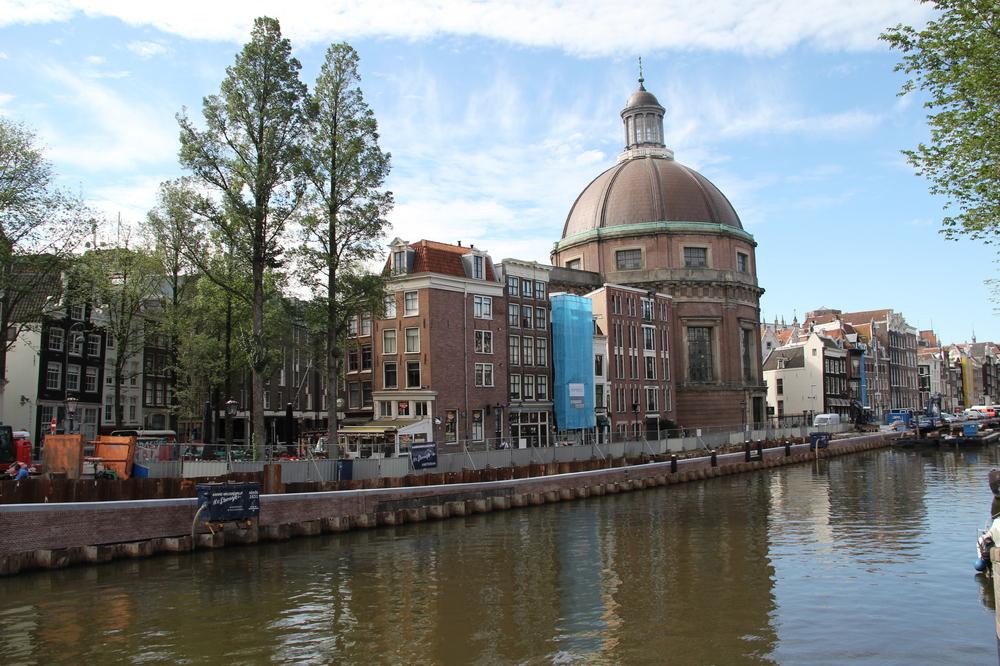 Walmuur vervanging Singel Amsterdam